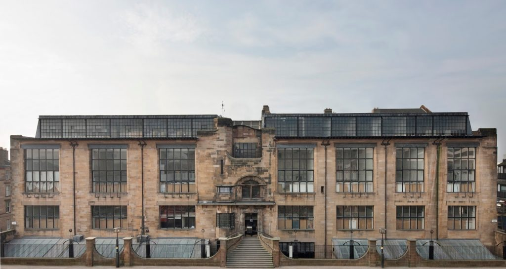 "Mackintosh's ""Glasgow School of Art"""