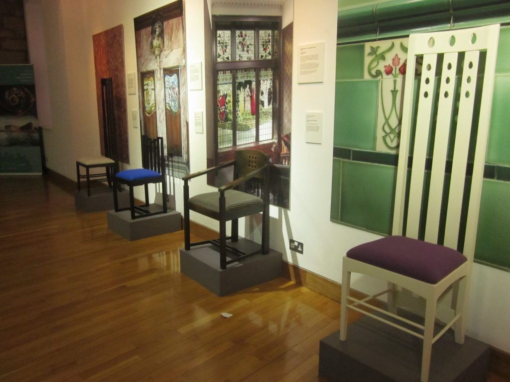 Mackintosh's furniture Design - The Lighthouse - Glasgow