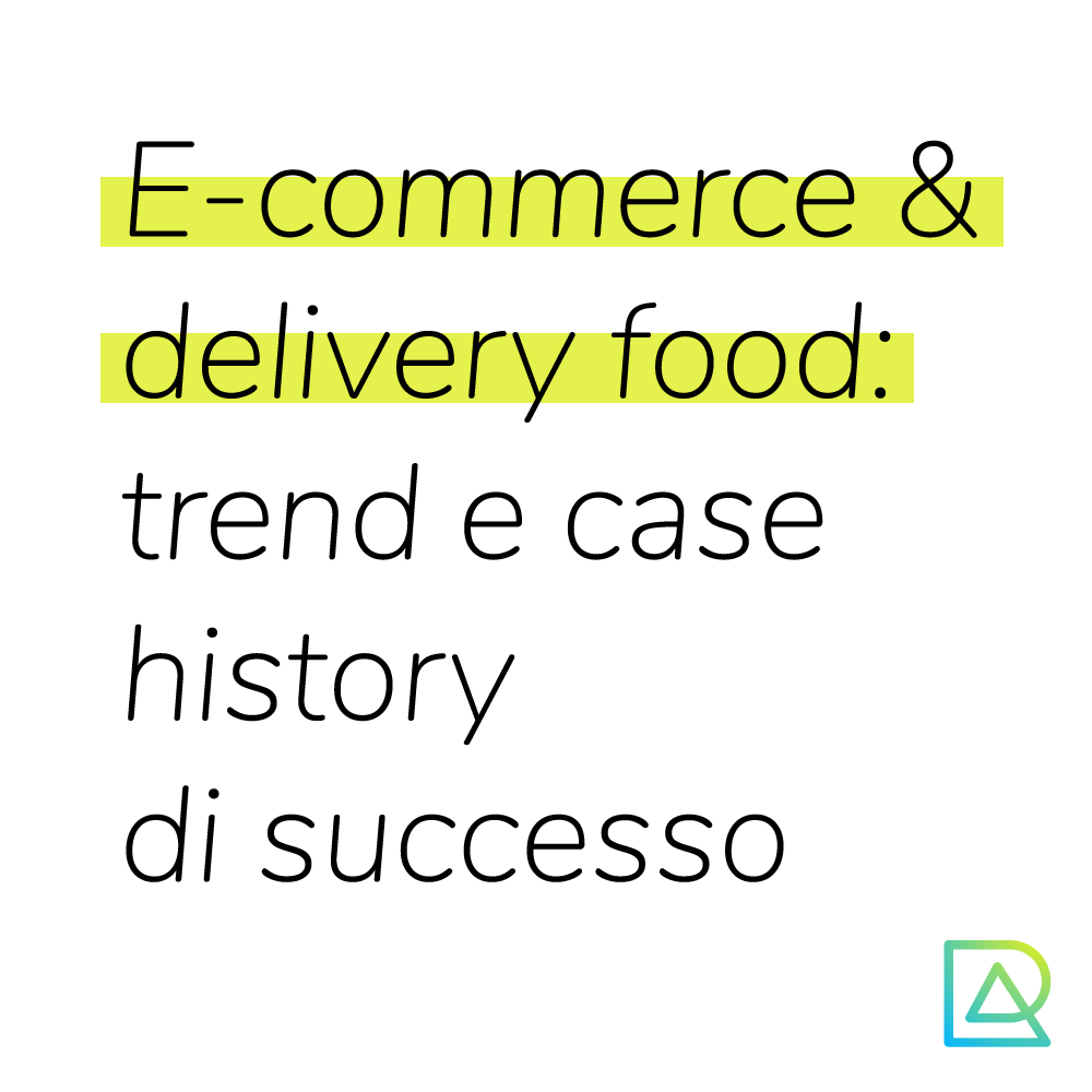 eCommerce e food delivery trend